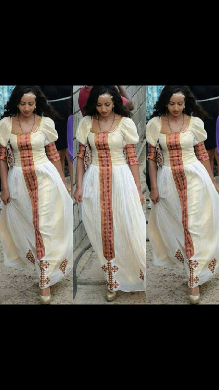 Beautiful ethiopian dress ethiopian fashion culture for Ethiopian traditional wedding dress designer