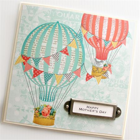 mother's day hot air balloons by The Little Card Boutique http://madeit.com.au/Main/Item?itemId=941069