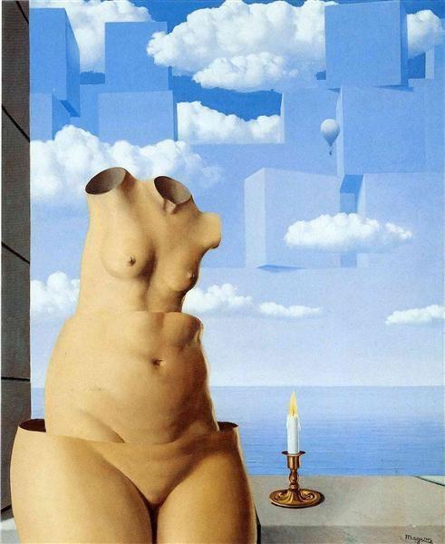 Delusions Of Grandeur 1948  Rene Magritte