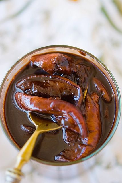 Шоколадное варенье из персиков / Composta di pesche e cioccolato | Элла Мартино Рецепты Кулинарные туры Итальянская кухня