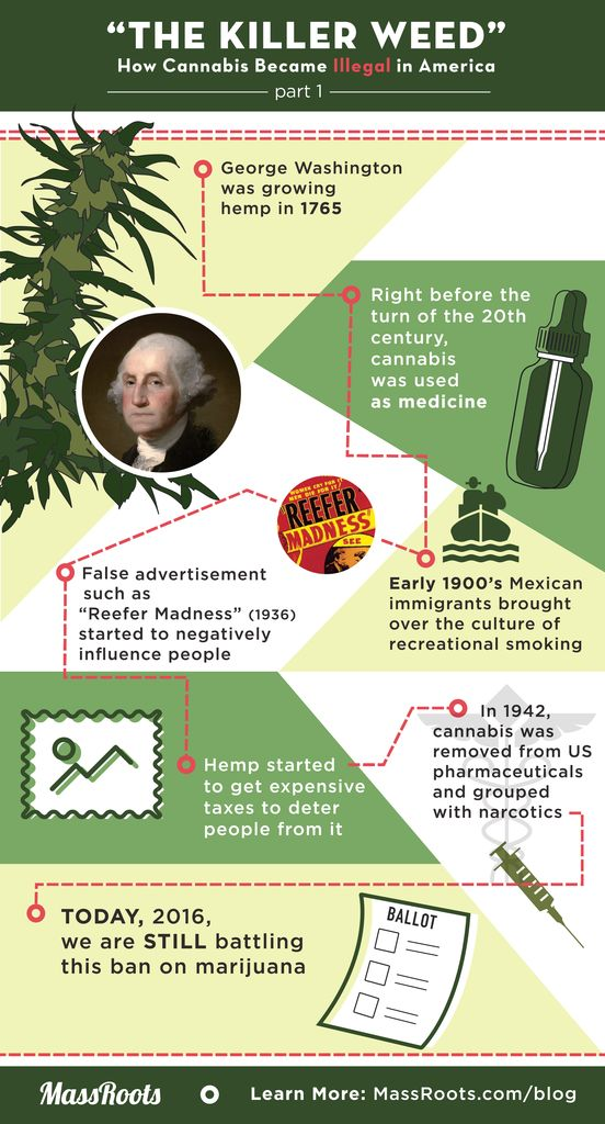 why the illegalization of marijuana was Looking back at marijuana's history, i'm grateful to live in a time where these prejudices are being legally dropped though i've come to understand why the law is the way it is, i never .