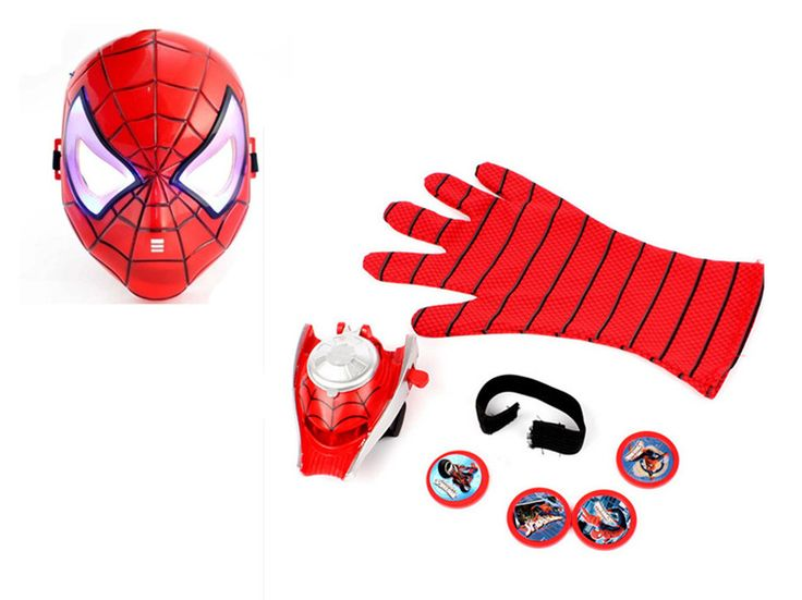 Cosplay Spider-Man 2 UFO Launcher gloves and mask sets an LED flash toys at this Price: $ 12.49 & FREE Shipping    https://fansofspiderman.com/cosplay-spider-man-2-ufo-launcher-gloves-and-mask-sets-an-led-flash-toys-costume-party-spider-slinger-juguete-children-gift/    Follow Us On Instagram :   #FansOfSpiderman  @FansOfSpiderman