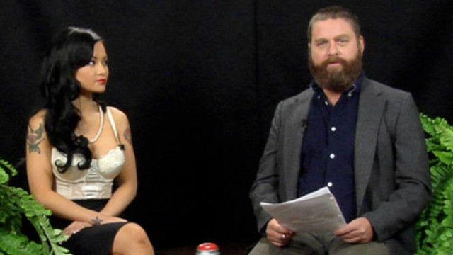 Between Two Ferns with Zach Galifianakis: Jennifer Aniston & Tila Tequila (VIDEO)