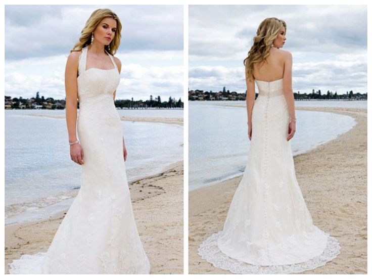 Couture Halter Wedding Dress