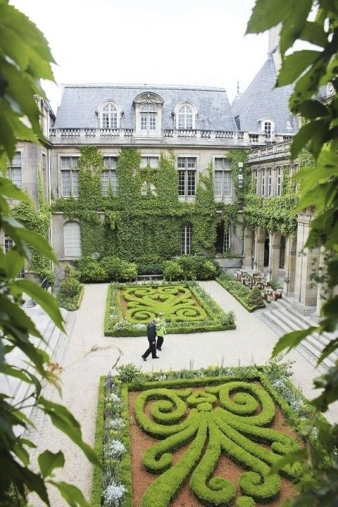 What Style of Garden Do You Favor?  Paris, beautiful garden & architecture