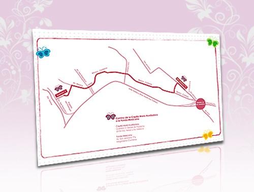 Mapa para invitación personalizado
