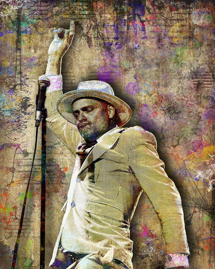 Gord Downie Poster, Gord Downie Portrait Gift, Gord Downie of the Trag                      – McQDesign