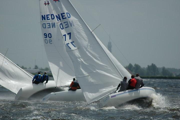 Holland Tropy 2012 - Alkmaardermeer - Dutch H-boat Association #sailing