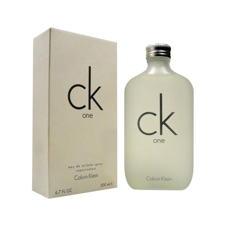 One Perfume by Calvin Klein. First Unisex perfume by Calvin Klein, launched in 1994, with a Citrus Aromatic fragrance for women and men. Top notes are pineapple, green notes, mandarin orange, papaya, bergamot, cardamom and lemon; middle notes are nutmeg, violet, orris root, jasmine, lily-of-the-valley and rose; base notes are sandalwood, amber, musk, cedar and oak moss. http://www.zocko.com/z/JJNV4