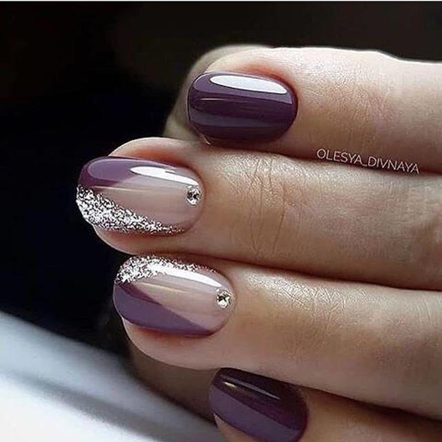 Mismatched Nail Artwork Designs Nailart Naildesigns Designs Mismatched Nailart Naildesigns Nail Designs Hot Nails Purple Nail Art