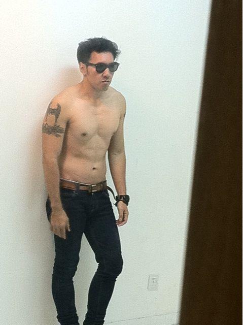 shirtless // sexy