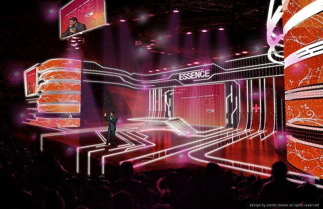 Stage Design,Essence Music Festival 2009,Stefan Beese,RE:BE Design   Flickr - Photo Sharing!