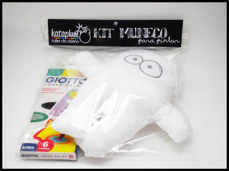 kit didáctico para pintar!