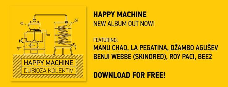 Din solidaritate cu The Pirate Bay, Dubioza Kolektiv împarte gratuit fanilor ultimul album – Happy Machine