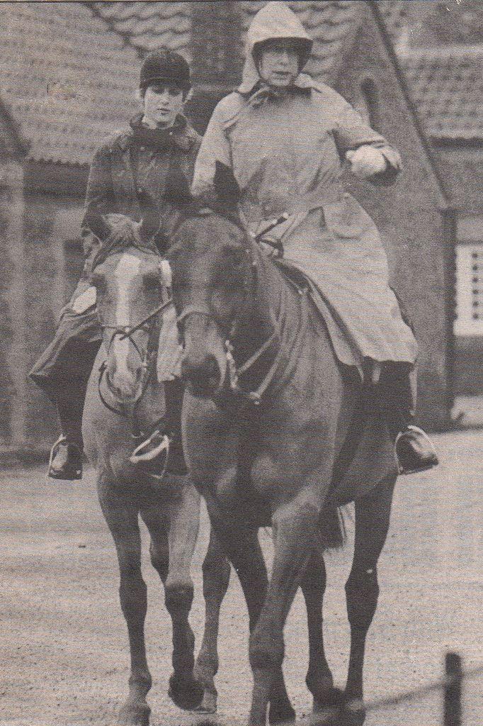 Princess Diana and Queen Elizabeth ll