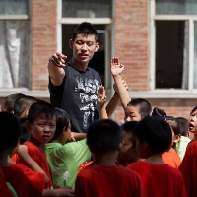 Jeremy Lin Hosts Basketball Camp In China