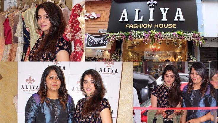 Sasural Simar Ka Fame Dipika Kakar At Launch Of Aliya Fashion House - YouTube