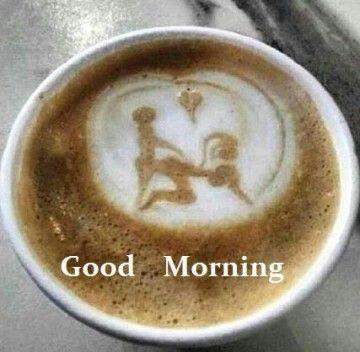 Guten Morgen. Kaffee ist fertig.