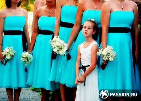Платье подружки невесты на свадьбу