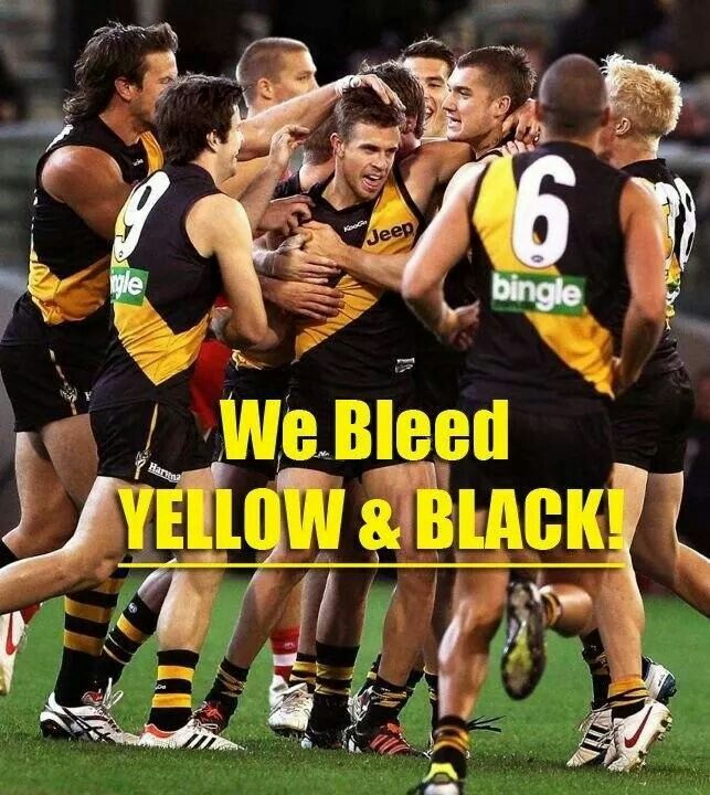 We bleed yellow and black