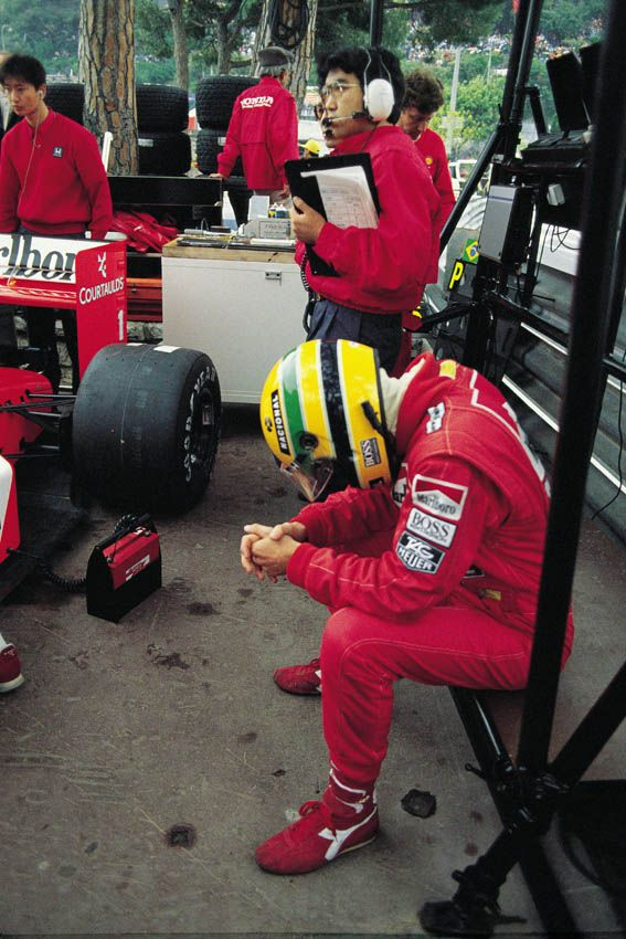 Ayrton Senna | 1989 Monaco Grand Prix (I so want to know what was going on in that wonderful brain of his ~ W)
