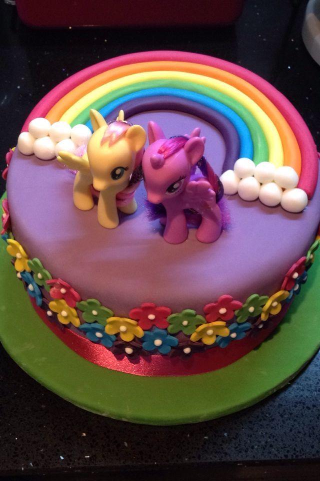 My Little Pony Cake For Kindergeburtstag Little Pony Cake My Little Pony Cake Birthday Cake Kids