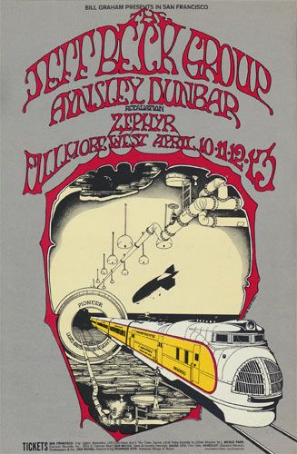 Randy Tuten | Jeff Beck Group at Fillmore West 4/10/69