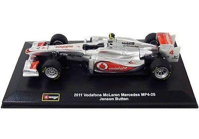Bburago 41203 2011 Vodafone McLaren Mercedes MP4-26 Lewis Hamilton 1/32
