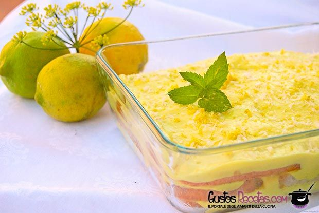 Tiramisù al limone – variante al classico - http://gustosrecetas.com/tiramisu-al-limone-variante-al-classico/