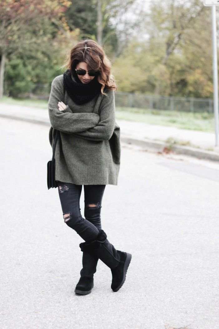 Easy, cozy and comfy fall fashion …