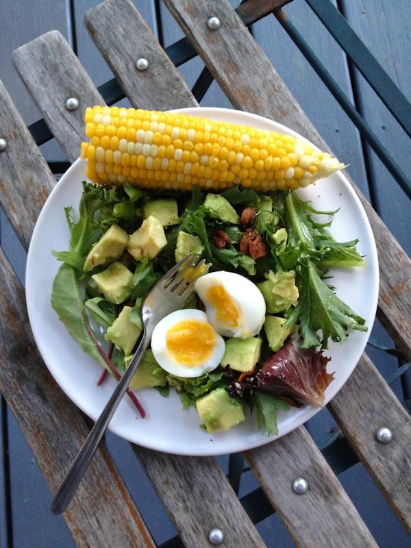 La comida será mi herramienta de trabajo, ¿algo más hermoso que esta combinación de colores, sabores, texturas...? Vitaminas, proteínas, omega 3, todo en uno.
