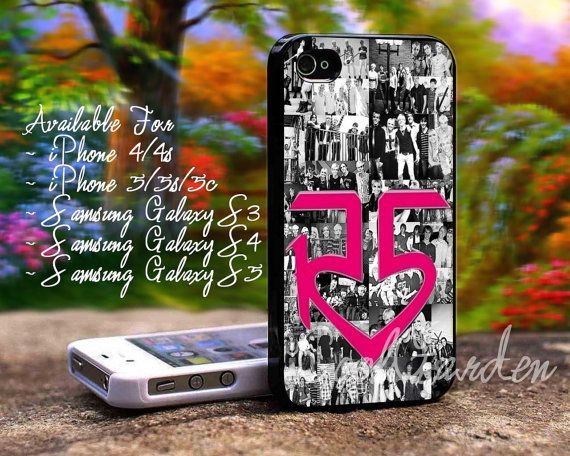 R5 Louder Band Collage design for iPhone 4/4s iPhone by CoolGarden, $14.80