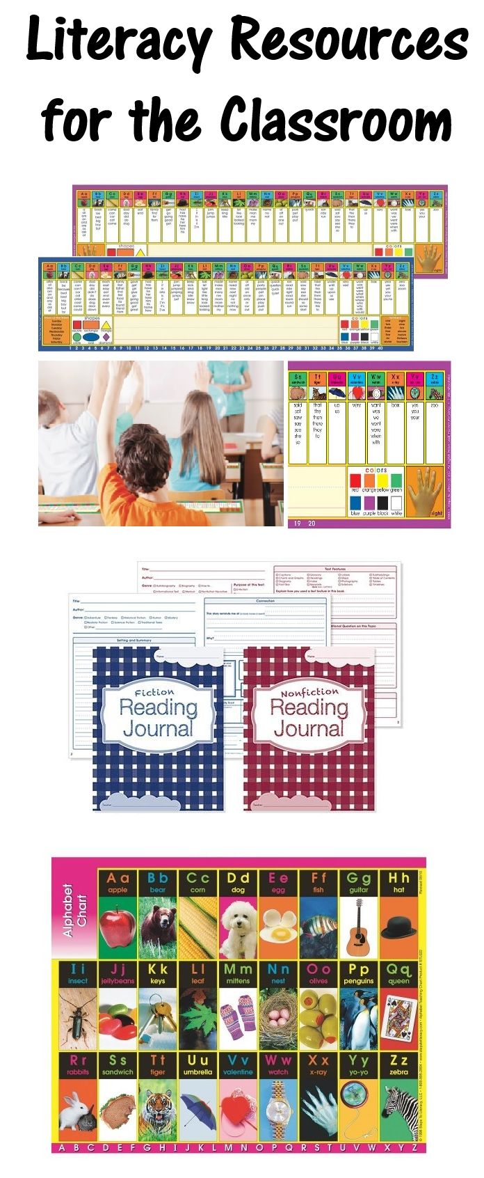 Learn 3 new resources that will help build literacy skills in the classroom!