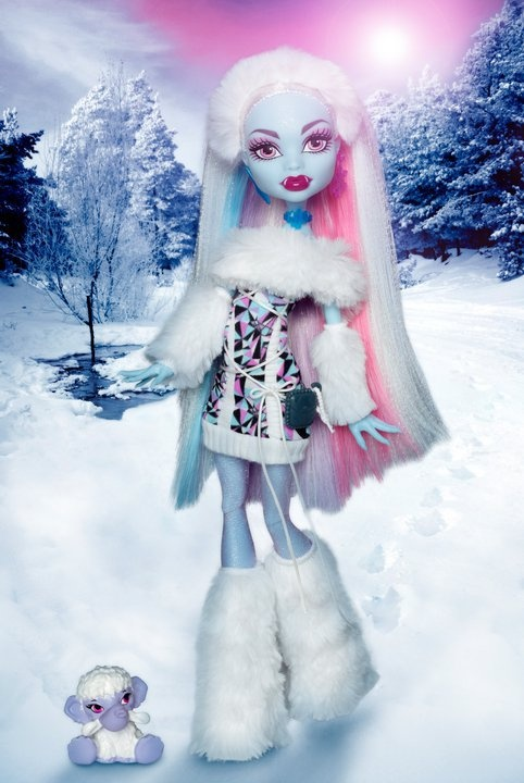 Monster High Doll: Abbey Bominable (Daughter of the Yeti)
