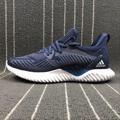 62a11b4dc Mens Blue White Adidas Alpha Bounce Training Shoes CZ4915