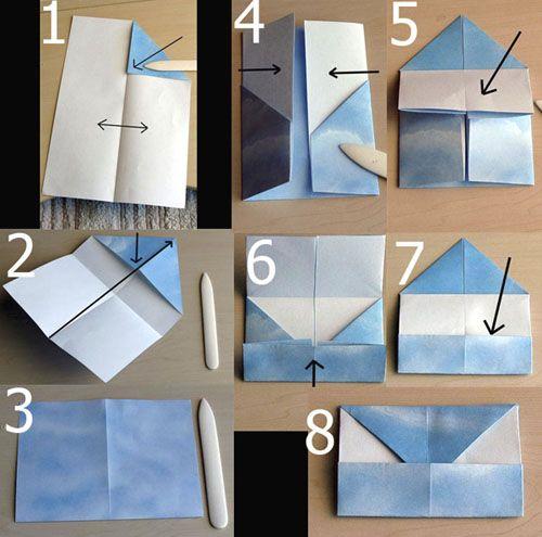 origami letter folding