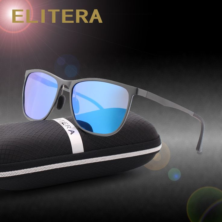 ELITERA Aluminum Magnesium Sunglasses Polarized Sports Men Coating Mirror  Driving Sun Glasses oculos Male Eyewear Accessories a41759a3cd