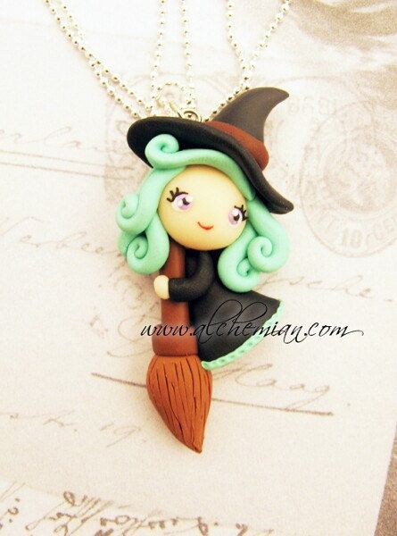 *POLYMER CLAY ~ Little Witch