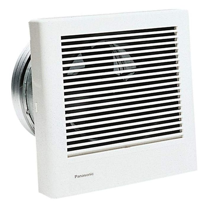 View the Panasonic FV-08WQ1 WhisperWall 70 CFM 1.1 Sones Wall Mounted Energy Star Rated Bath Fan with Fully Enclosed Condenser Motor and UL Listing at Build.com.