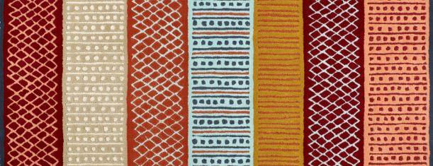 Ibali - Tapis tissé plat 120x180 multicolor - Habitat