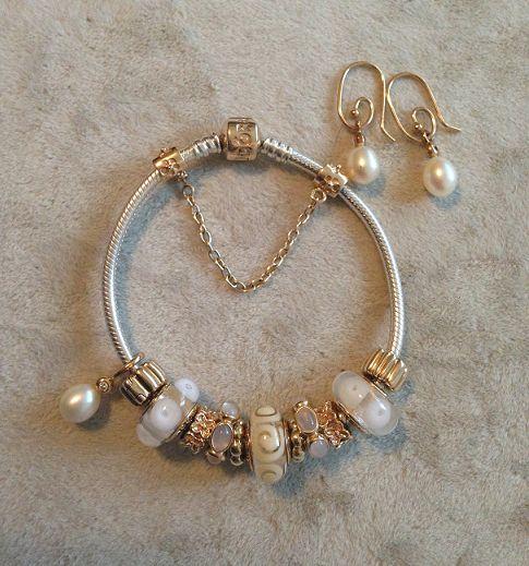 pandora pearl bracelet