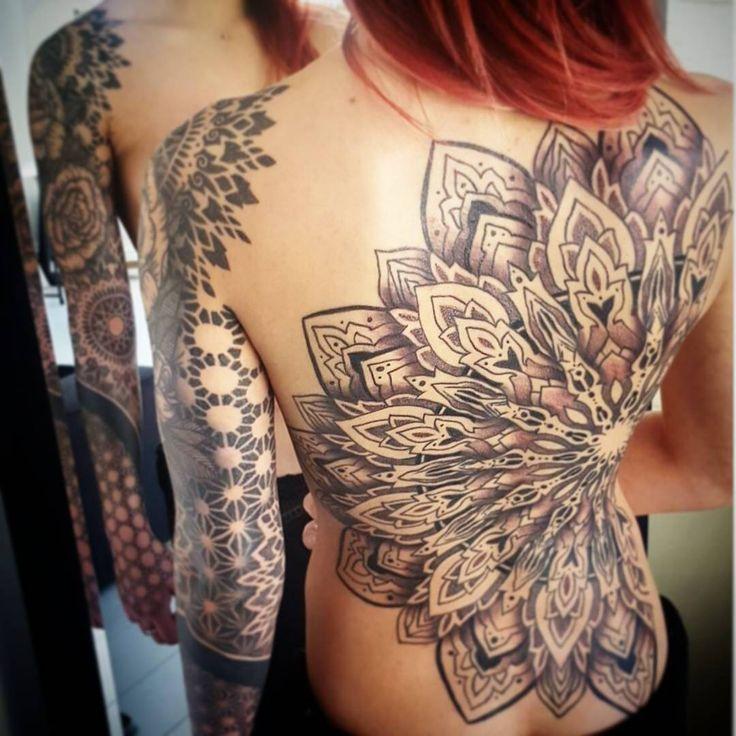 Rücken Tattoo