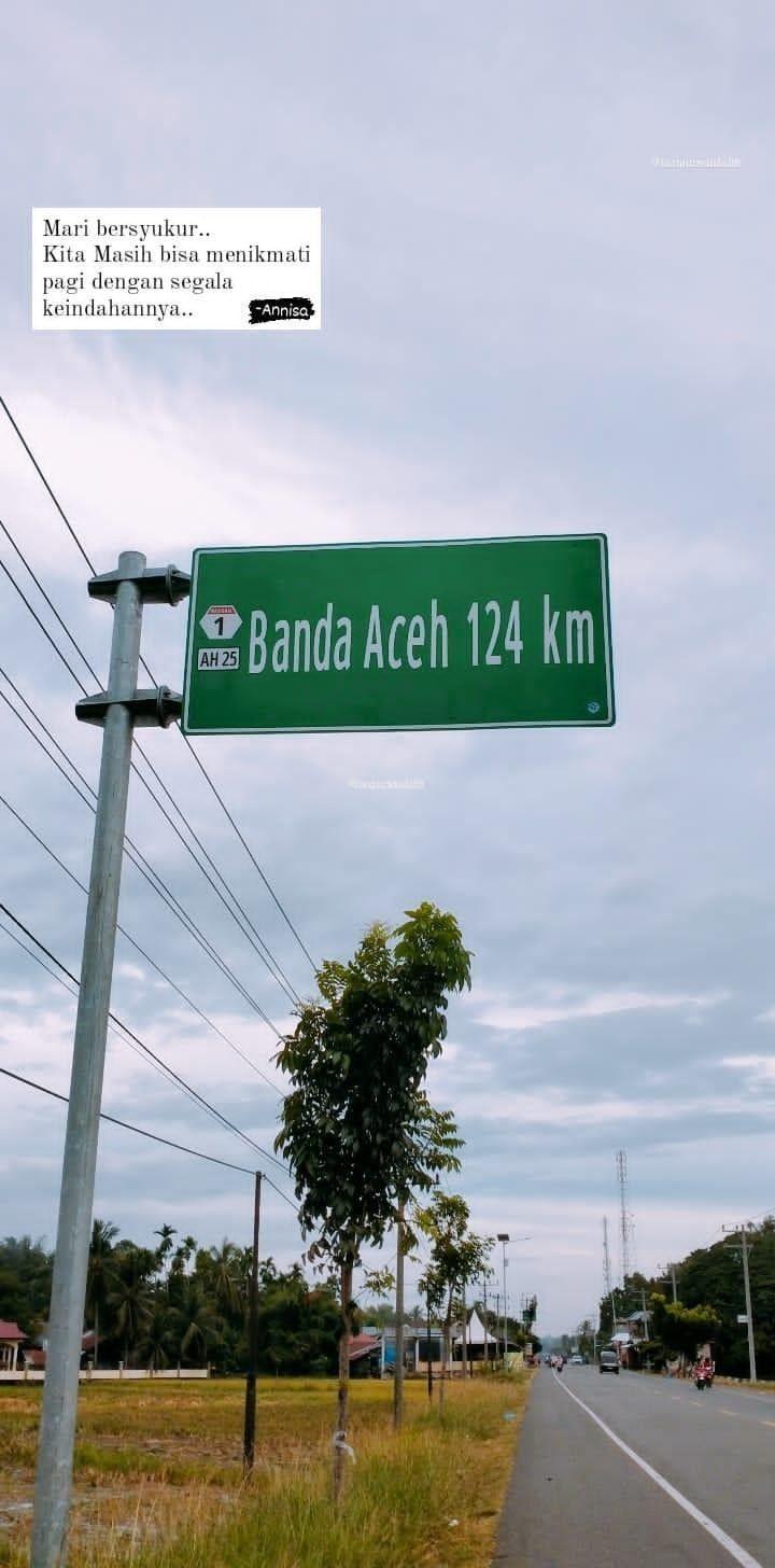 Bersyukur Tentang Pagi Banda Aceh Bersyukur Dunia