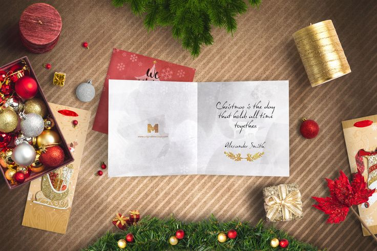 Christmas Header And Hero Scene Mockup 06 by Original Mockups on @originalmockups