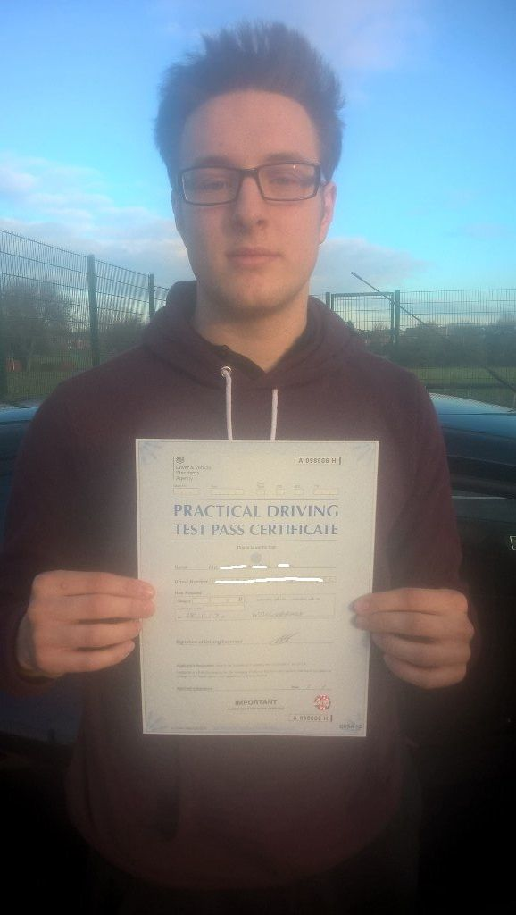 Congratulations Keiran on passing practical test today with only 5 minor faults Book or call your local #drivinginstructorswellingborough for great pass