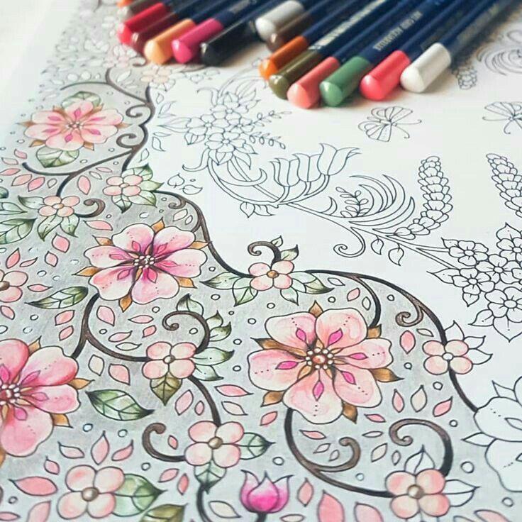 コロリアージュ おしゃれまとめの人気アイデア Pinterest Takaya Chisato 色えんぴつ 塗り絵 色