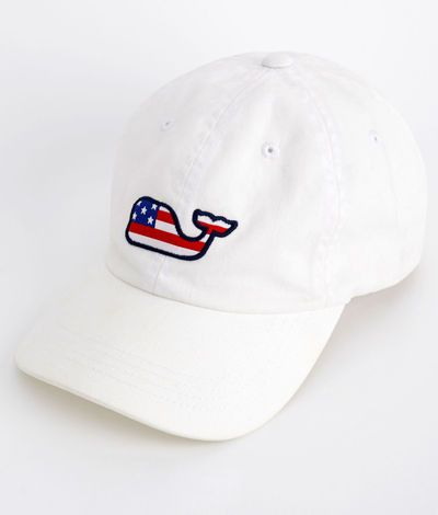 omg... Flag Whale Hat – Vineyard Vines