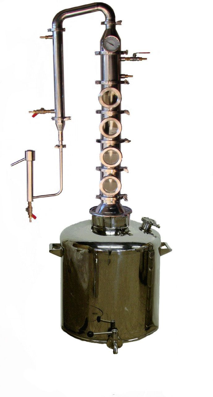 26 Gallon Stainless Mile Hi Flute - Mile Hi Distilling