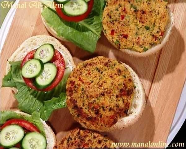 برجر نباتي بالبرغل Vegetarian Recipes Recipes Food