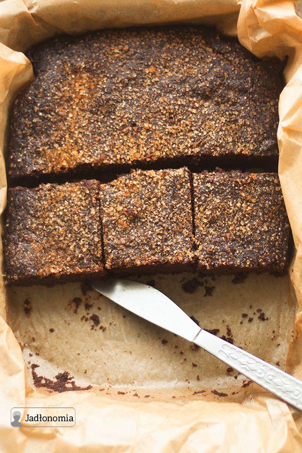 jadłonomia • przepisy wegetariańskie: Ratunkowe czekoladowe ciasto